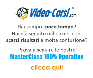 masterclass web su Video-Corsi.com